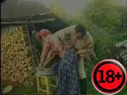 Ебля в деревни бабушек